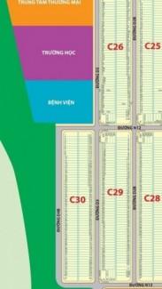 585tr lô đất thổ cư C30 trong VSIP II mở rộng,SĐ,TT dài hạn k lãi suất