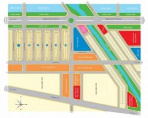 Sang lô N ô 91, dự án The mall city 2, 540tr/ nền, bao giấy tờ sang tên
