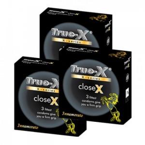 Combo 3 hộp Bao cao su ôm sát CloseX