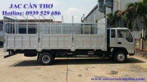 Xe tải JAC 9,1 tấn mui bạt cần thơ, Jac cần thơ