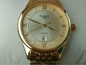 Đồng hồ đeo tay nam Tisort  dây kim loại thụy Sỹ