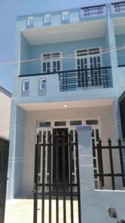 Nhà mới xây DT 4 x 25m 1 trệt 1 lầu SHR_...