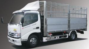 xe tải HINO XZU730L mui bạt 5tấn đời 2017