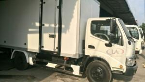 xe tải HINO DUTRO 342L thùng đông lạnh  5 Tấn 2017
