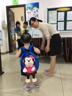 Balo trẻ em, balo cho bé, balo vải hình thú bông