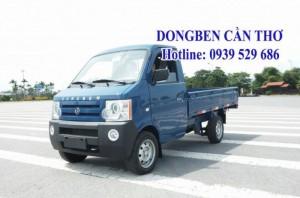 Xe tải DONGBEN 870kg thùng lửng cần thơ
