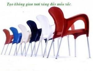 Ghế nhựa đa màu giá rẻ