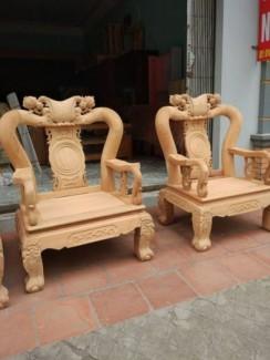 Bộ Bàn Ghế Minh Quốc Đào ( gỗ gõ đỏ ( cà te )...