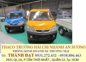Thaco towner 990, towner990, xe tải thaco towner 990 tải trọng 990kg. Đời 2017 tiêu chuẩn khí thải euro4