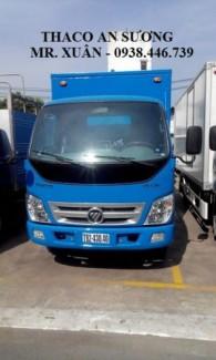 Xe tải thaco ollin 500b 5 tấn, thaco ollin700b 7 tấn, ollin800 tải 8 tấn