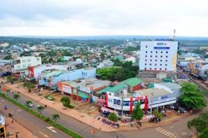 Cần bán đất thổ cư 2 mặt tiền đường Trần Hưng Đạo trung tâm thị xã Buôn Hồ