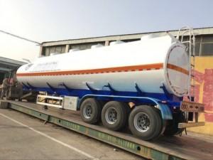 Bán Rơ Mooc Chở Xăng dầu 40 khối 2017, Rơ...