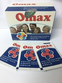 Omax tăng cường miễn dịch, phòng chống bệnh tật