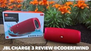 Loa JBL Charge 3 (Đỏ) Thỏa Mãn Mọi Đam Mê