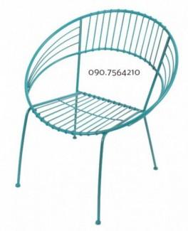 Ghế sắt  dành cho quán cà phê hiện đại