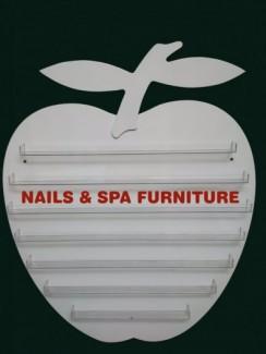 Nails Apple Polish Rack