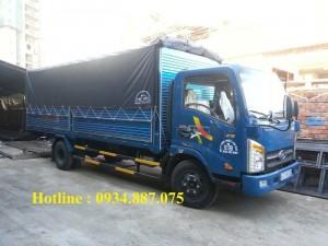 Bán xe tải Veam Vt260 1.99 tấn 1t99 thùng dài...