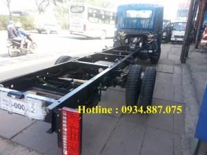 Bán xe tải Veam Vt260 1.99 tấn 1t99 thùng dài 6.2 mét / Veam Hyundai 1.99 tấn thùng dài 6.2m