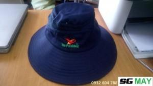 nhận may mũ nón phục vụ du lịch, nhận in thêu Logo thương hiệu lên nón