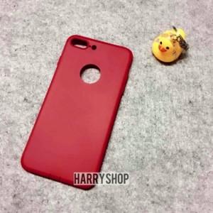 Ốp lưng iphone 7 plus dẻo silicone màu đỏ Baseus chính hãng