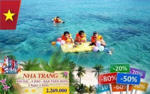 Khuyến mãi 30/04 - Nha Trang 4 đảo