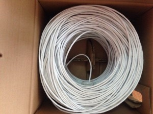 Cáp mạng Cat5 UTP CABLE, AMP Category 5 UTP...