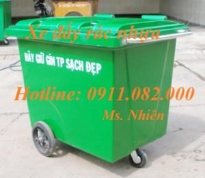 Chuyên bán thùng rác nhựa 120l, 240l, 660l giá rẻ