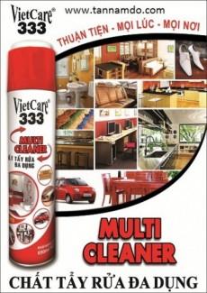Vietcare 333, Multi cleaner, chất tẩy rửa đa dụng dùng cho bếp ga, xe hơi, bàn ghế, sopha, thảm nệm, inox