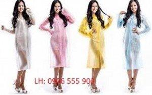Sản xuất cung cấp áo mưa,in logo áo mưa tại Đà Nẵng giá ưu đãi