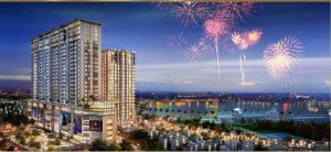 Căn hộ S2 A 18 07 Sun Grand City 2 PN suất ngoại giao