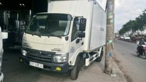 Xe tải HINO DUTRO 342L thùng kín  4Tấn 2017
