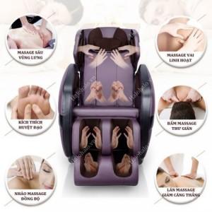 Ghế massage toàn thân Shika SK-816 thợ matxa điêu luyện