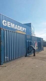 Container 40 cắt nóc, mở cửa vách bán hoặc cho thuê