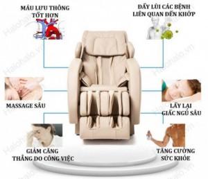 Ghế Massage 3D Shika SK-8901 tuyệt tác hoàn hảo