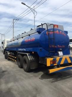 HYUNDAI NHẬP KHẨU HD320 gắn bồn xitec xăng dầu 22m3