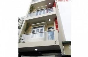 Bán nhà mới mặt tiền đường Trần Quang Khải. Q1, 4x21m, 5 Lầu, thang máy, giá 21.9 tỷ