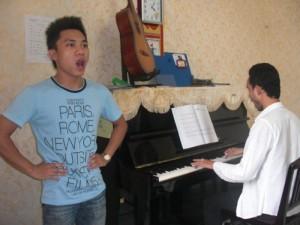 khóa học thanh nhạc tại nhà hát quân đội