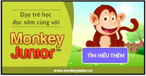 Phần mềm ngữ pháp phát âm tiếng anh trẻ em monkeyjunor