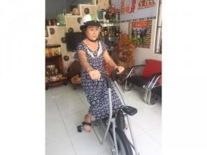 Xe đạp tập liên hoàn dành cho người già ,và người tai biến ở quy nhơn
