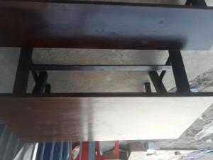 Thanh lý 10 bộ bàn ghế gỗ nhà hàng giá rẻ