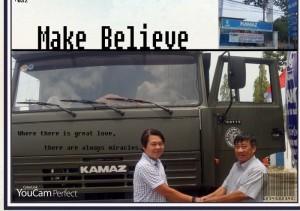 Chất lượng, uy tính trong từng sản phẩm Kamaz.Các em ben Kamaz đã đến với chủ nhân tại Thị TrườngTây Ninh.