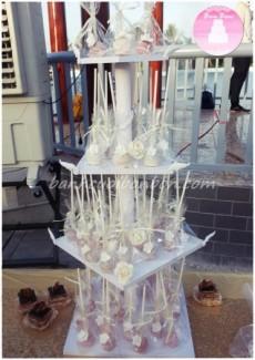 Bánh cưới Bon Bon update bánh cưới cakepop_tháp bánh cakepop