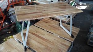 Bàn gỗ ghép chân gấp cho bé giá rẻ 2017