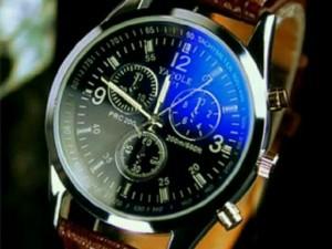 Đồng hồ nam  dây da chống trầy chống nước
