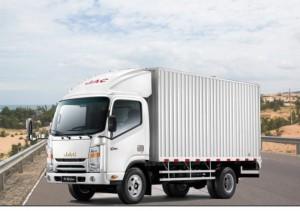Xe tải JAC 3T45 thùng kín
