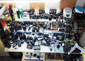 Dịch vụ vệ sinh & sửa chữa máy ảnh, máy quay, ống kính giá hợp lý
