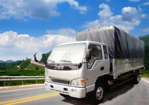 Xe tải JAC 7T25 thùng mui bạt