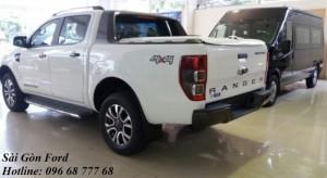 Khuyến mãi Ford Ranger Wildtrak 3.2L, trả trước 183 triệu, giao xe tháng 08/2017