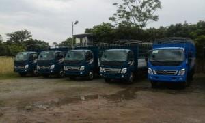 Thaco Ollin các trọng tải từ 5 đến 9 tấn ,...