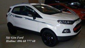 Khuyến mãi Ford Ecosport Black Edition nhiều quà tặng hấp dẫn